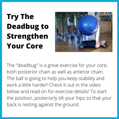 Try The Deadbug to Strengthen Your Core